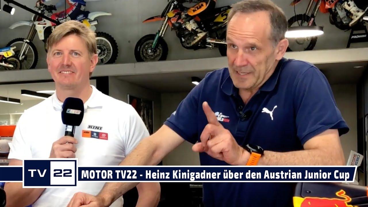MOTOR TV22 - Heinz Kinigadner über den Austrian Junior Cup 2021
