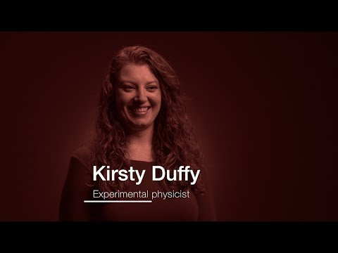 Kirsty Duffy: experimental physicist