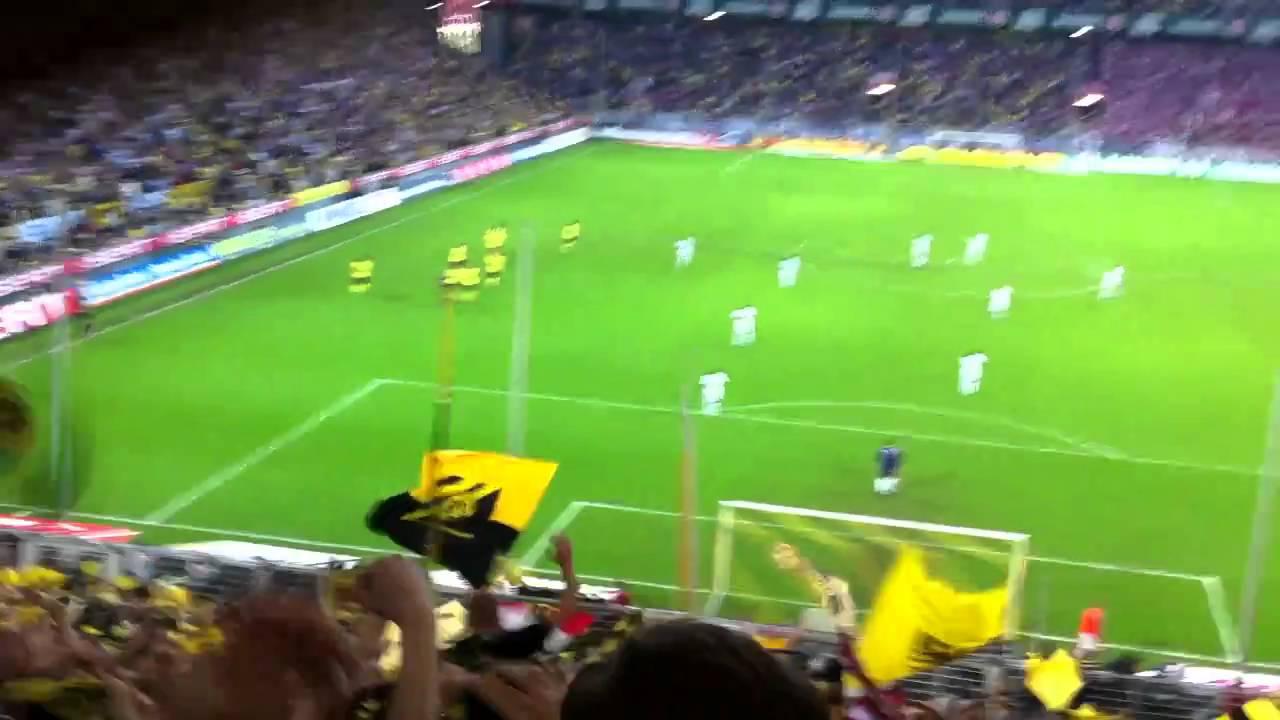 BVB - FCB 2:0 Südtribüne Block 13 (HD)