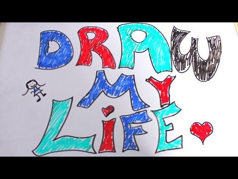 DRAW MY LIFE! | SAFFRON BARKER