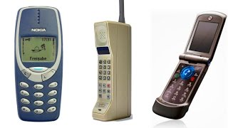 Top 10 Phones - Top 10 Iconic Cell Phones