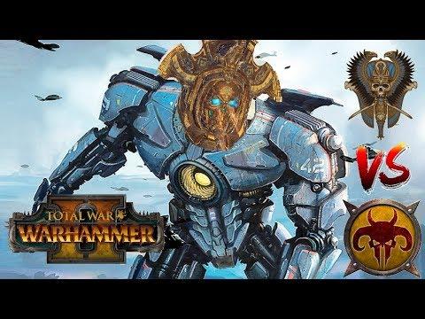 Tomb Kings vs Beastmen | HEIROKITIN : Total War Warhammer 2