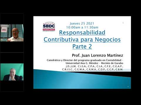 Responsabilidades Contributivas para Negocios Parte II