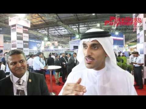 Mr. Saif Mohammed AI Midfa, CEO Sharjah Expo at Plastivision India 2013