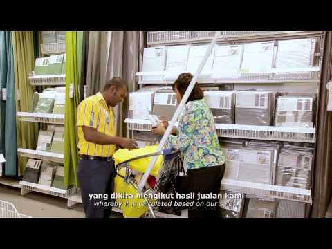 What are the benefits of working for IKEA?