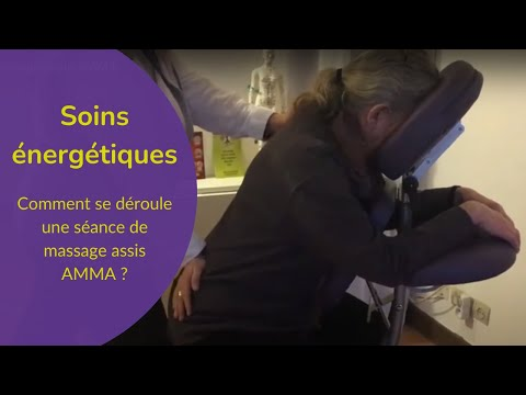 Le massage assis AMMA