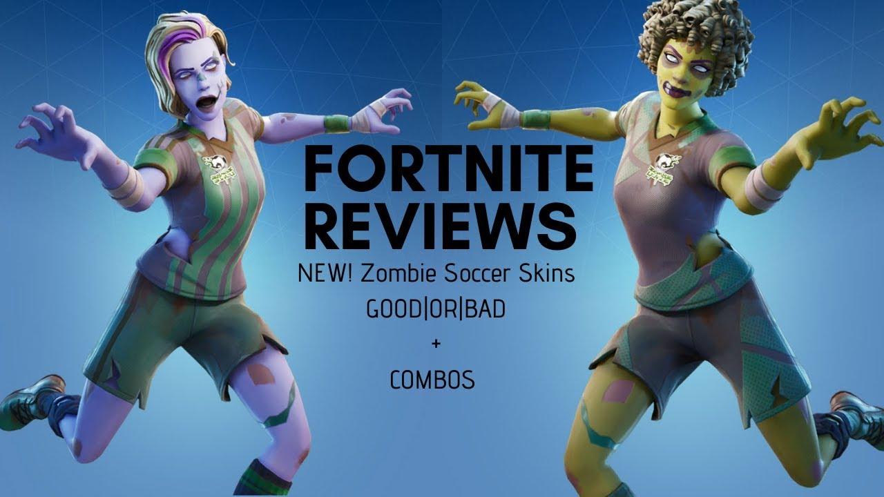 Black Girl Socccer Skin Fortnite Fortnite New Zombie Soccer Skin Review Youtube