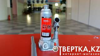 Домкрат гидравлический бутылочный, 2 т, h подъема 181–345 мм,  MATRIX MASTER(, 2014-10-29T11:05:28.000Z)