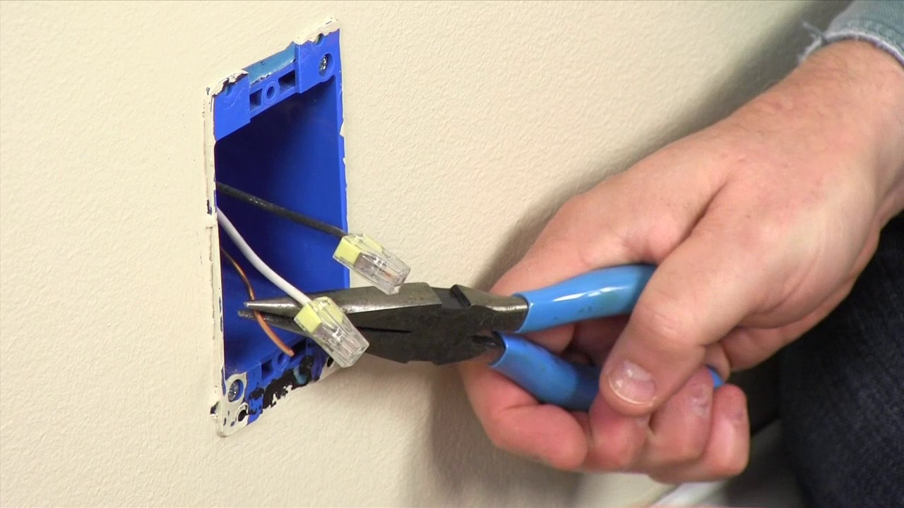 hight resolution of dealing with electrical wires that are too short