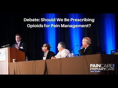 Debate: Should We Be Prescribing Opioids for Pain Management?