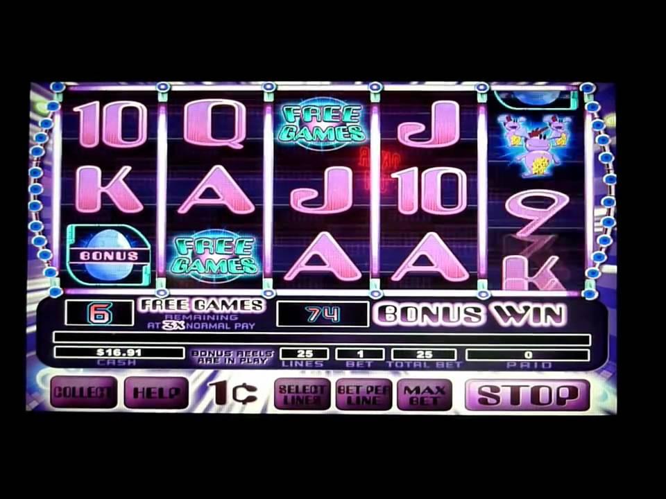 monsters slot machine