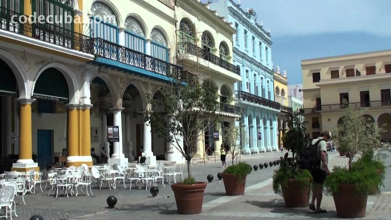 Cuba Travel, Havana Cuba, La Habana Vieja, 2010 Video ...