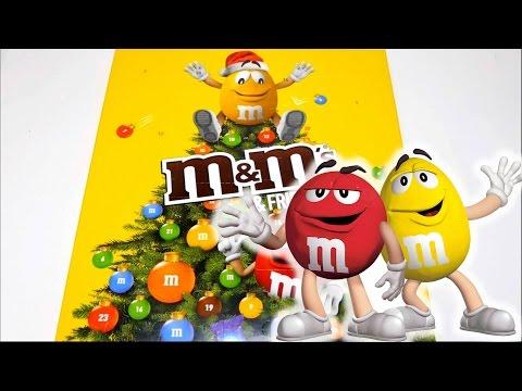 Calendario Avvento Mms.M M S Friends Advent Calendar With Snickers Mars Milky