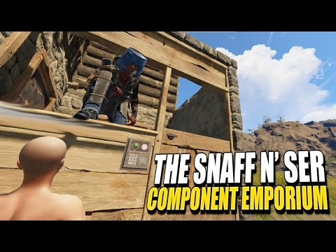 SELLING GEARED PLAYER CHEAP - The Snaff n' Ser Component Emporium (Rust)