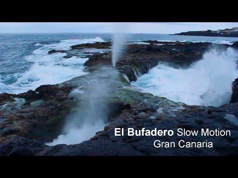 El Bufadero Slow Motion - La Garita de Gran Canaria