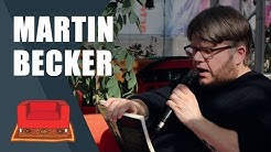 Martin Becker im Gespräch | Leipziger Buchmesse 2019