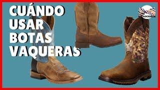 Plantillas acolchadas vaqueras con botas