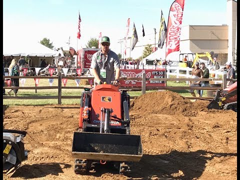 GIE Expo 2017: Mini skid steer Bobcat vs Ditch Witch?