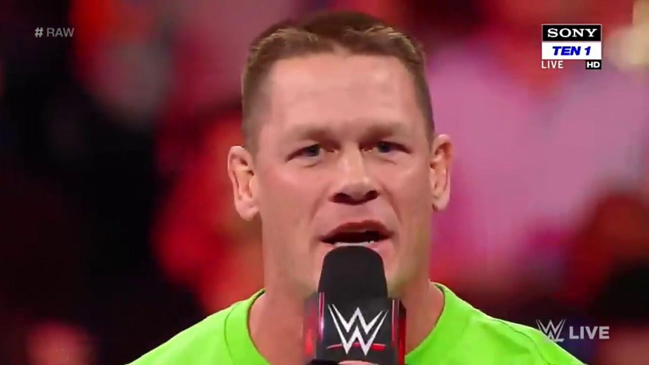 Download John Cena calls The Undertaker a coward WWE -Raw 19 March 2018