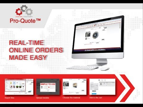 Digital Factory Pro Quote System 2012