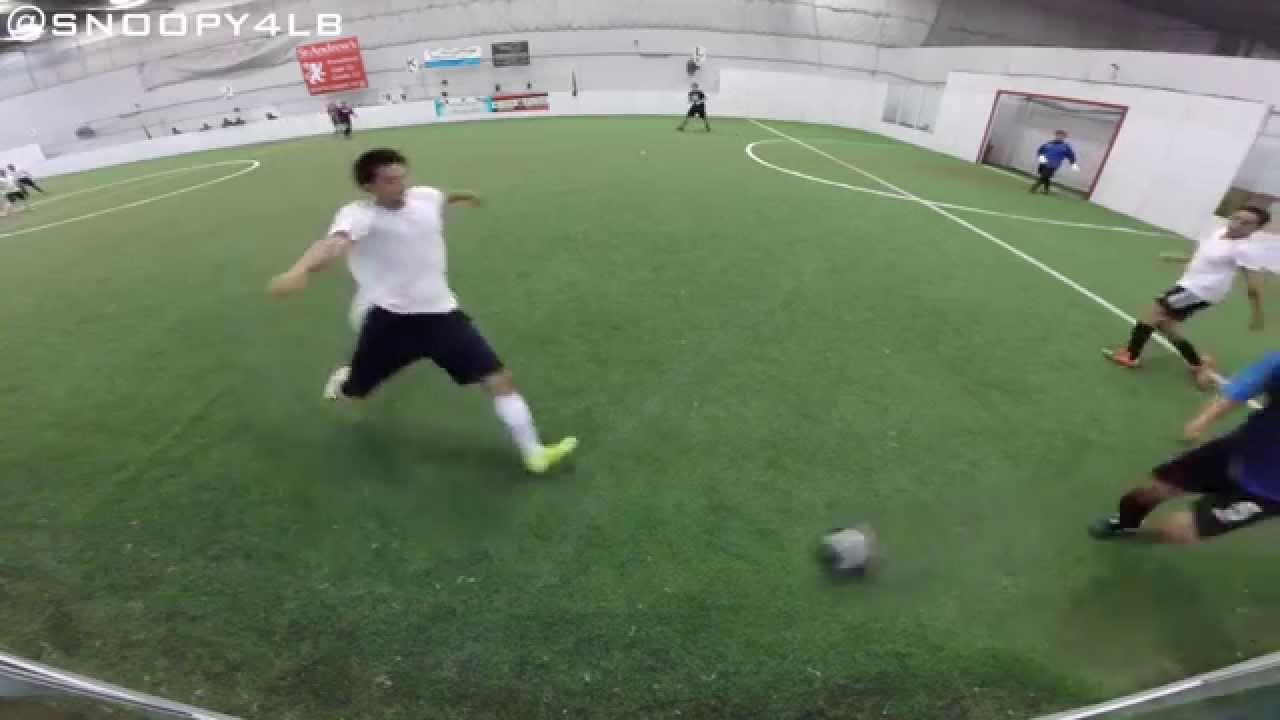 GoPro Indoor Soccer Game High Lights