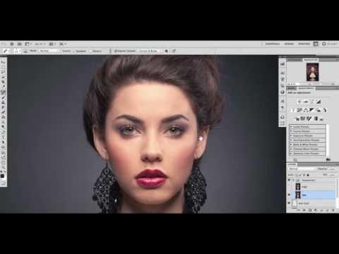 Beauty Retouch Workflow