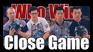 Close Game Bowling Game - Darren Tang & Michael Tang VS. Kris Prather & Brandon Novak