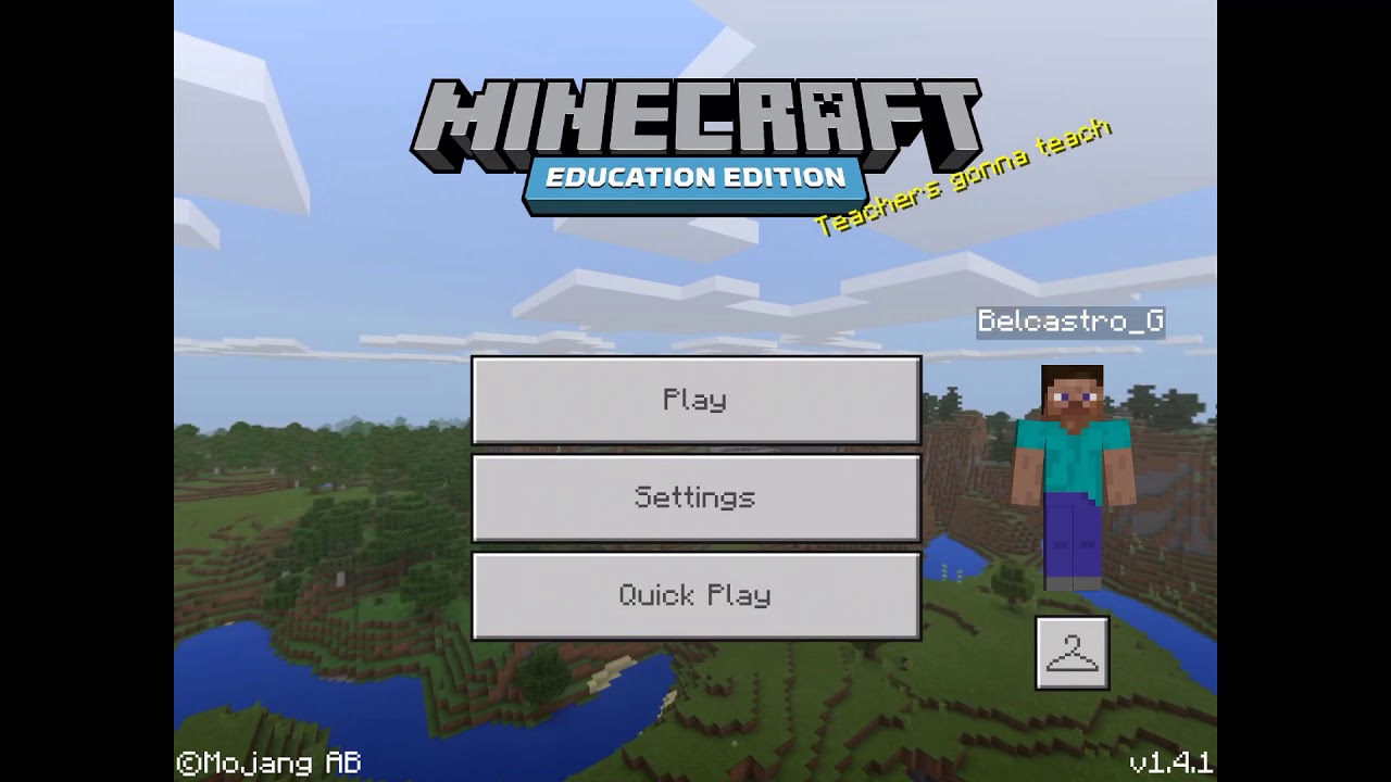 How To Create A Server On Minecraft Education Edition Edu Large Youtube