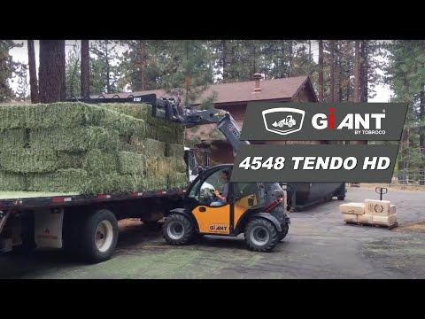 GIANT telehandler for faster and more efficient deliveries