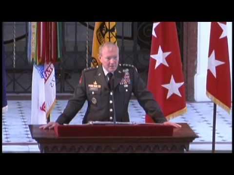 Army ROTC Awards 2009 - Martin E. Dempsey Part 2 of 3