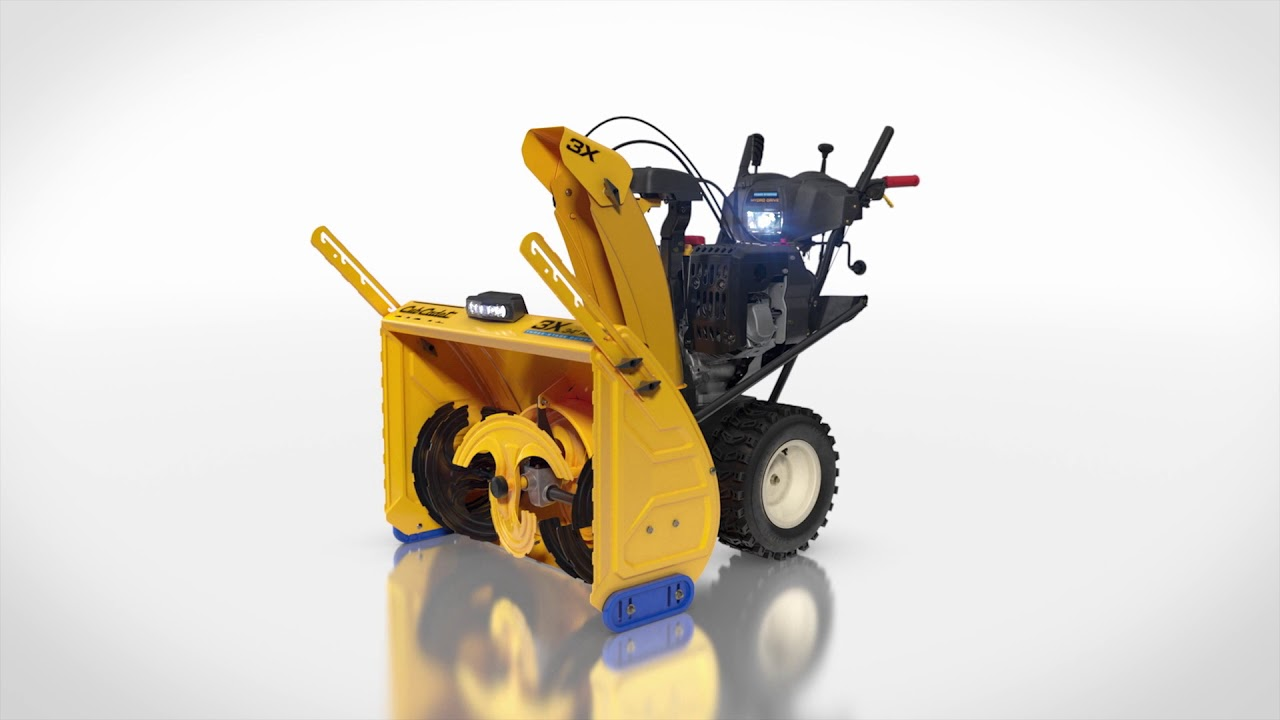 introducing the cub cadet x series snow thrower lineup [ 1280 x 720 Pixel ]