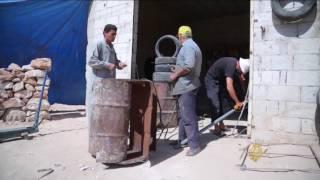 سوريون يبتكرون حلولا شمسية لتعويض قطع الكهرباء