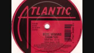 """BeBe Winans - Thank You 12"""" MAW Remix"""
