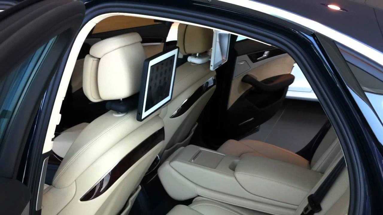 ipad car mount from incarbite mounted on audi a8 youtube. Black Bedroom Furniture Sets. Home Design Ideas