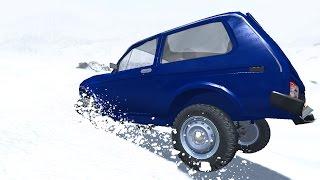 РОССИЙСКИЙ ГОЛОЛЕД - BEAMNG DRIVE