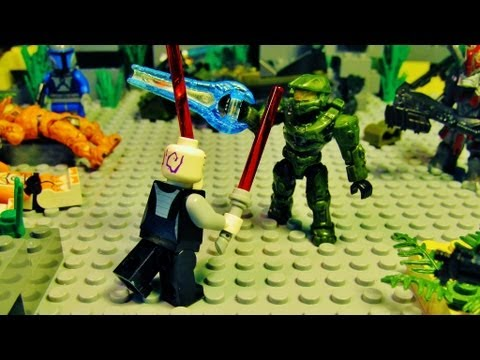 lego halo vs star wars 6 youtube. Black Bedroom Furniture Sets. Home Design Ideas
