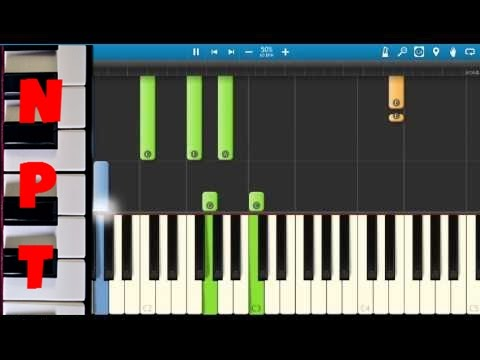 Ella Henderson - Yours - Piano Tutorial - Synthesia - How To Play Yours