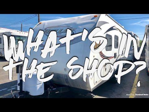 What's In The Shop? | Episode 5 | Part 1: Front Cap Repair | 2012 Keystone Bullet Ultralite