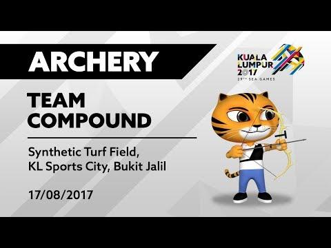 KL2017 29th SEA Games   Archery - Men's/Women's Team Compound
