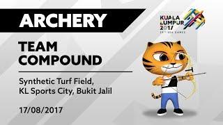 KL2017 LIVE   Archery - TEAM COMPOUND   17/08/2017