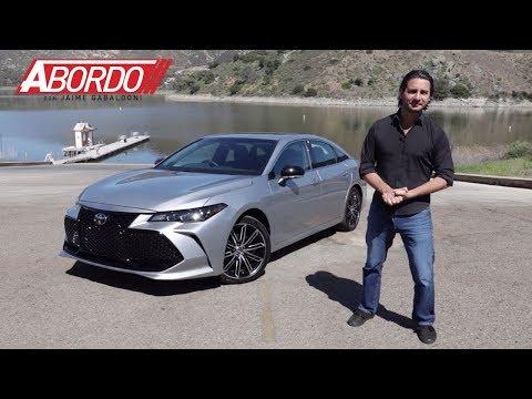 Toyota Avalon 2019   Prueba A Bordo completa