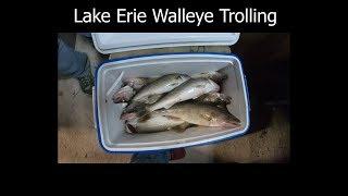 Walleye trolling in a brand new Kingfisher boat
