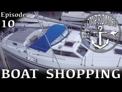 Ep 10 Boat Shopping Pt 2 - Southerly 115 - Sailing SV Compromise