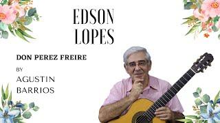 Don Perez Freire (Tango) (Agustin Barrios)