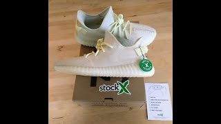 YEEZYs Butter STOCKX !!! UNBOXING + ON