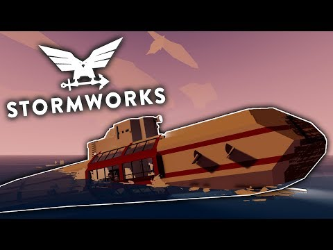 Surfacing Time - Scrubmarine - Stormworks: Build and Rescue - Part 16