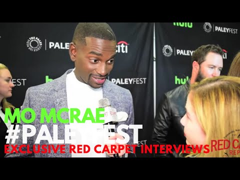 Mo McRae ed at PaleyFest Fall P 2016 for Pitch PITChonFOX PaleyFest