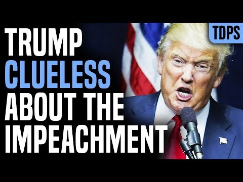 Trump Too Ignorant to Realize Impeachment Hearing is DEVASTATING