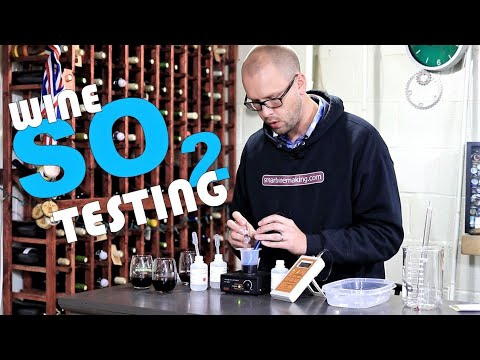 Measuring Sulfites In A Wine