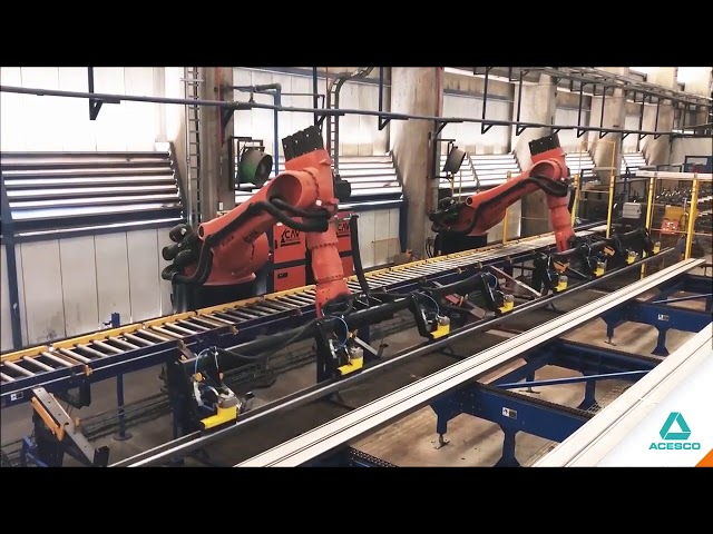 Automatic Stacking Machines at Acesco | Magswitch Technology